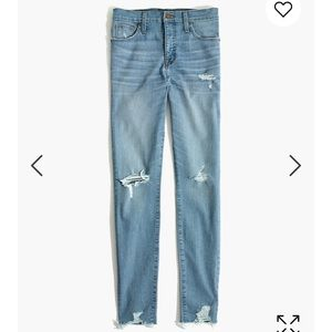 Madewell highrise skinny jeans destructed Ontario